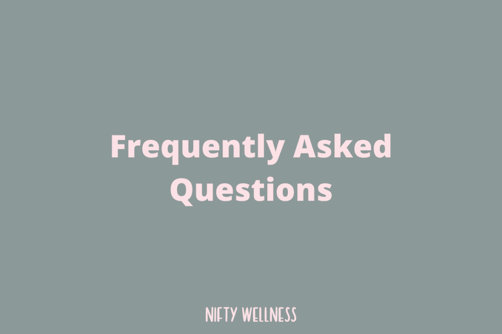 Frequently Asked Questions 6