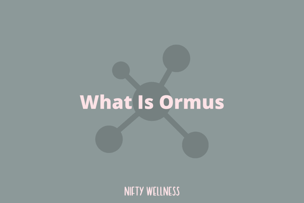 What Is Ormus